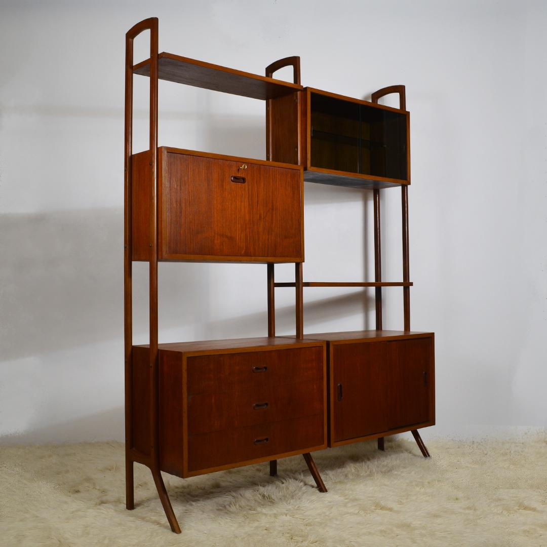 Image of: Mid Century Modern Bookcase Retrosexual Vintage Shop