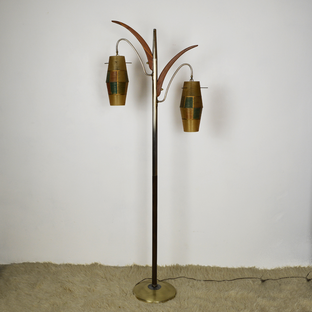 American Mid Century Floor Lamp