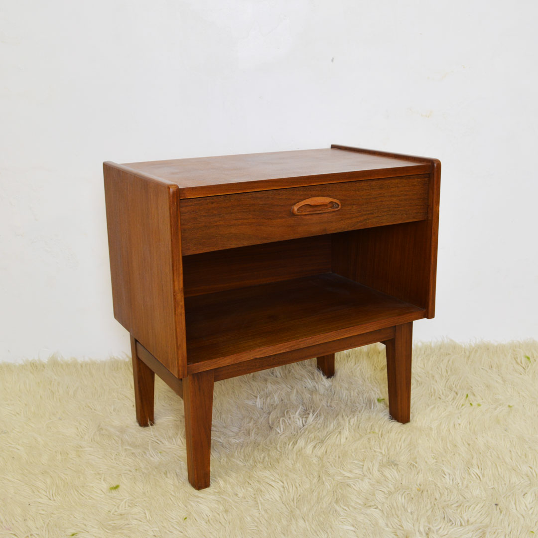 Picture of: Mid Century Bedside Table Retrosexual Vintage Shop